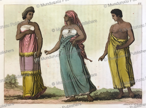 The dress of women of Congo, Angelo Biasioli, 1819 | Photos and Images | Travel