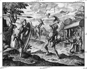 Cannibals from the kingdom Loango in Congo, Theodoor de Bry, 1609 | Photos and Images | Travel