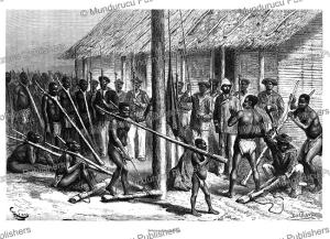 the delivery of slaves, french congo (gabon), e´douard riou, 1888