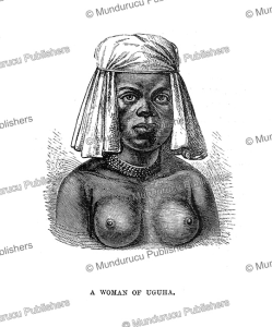 A woman of Uguha on the West bank of Lake Tanganyika, Congo, Henry Moore Stanley, 1878 | Photos and Images | Travel
