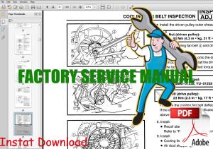 yamaha apex snowmobile service manual