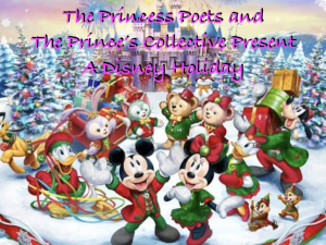 The Princes Poets and The Prince's Collective Present A Disney Holiday | Movies and Videos | Children's
