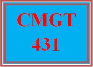 cmgt 431 wk 1 discussion: sensitive data classification