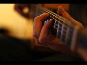 historia de un amor classical guitar tab (sample)