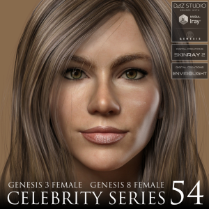 celebrity series 54 for genesis 3 and genesis 8 female