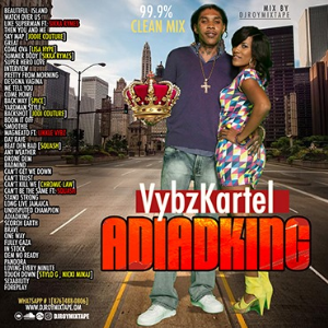 dj roy vybz kartel adiadking official mix [2019-2020]
