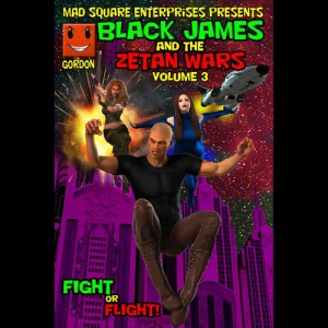 Black James and the Zetan Wars - Volume 3 | eBooks | Comic Books