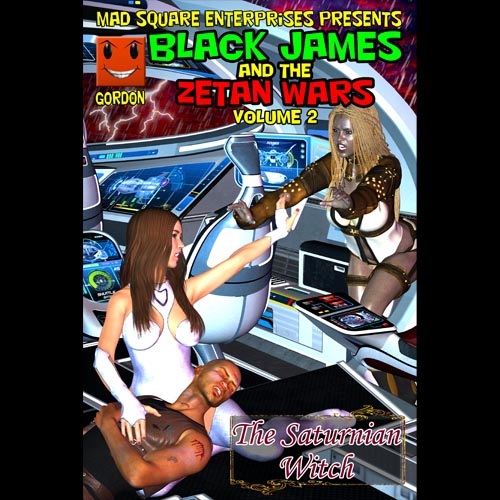 First Additional product image for - Black James and the Zetan Wars - Volume 2