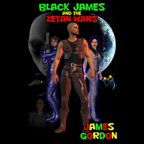 First Additional product image for - Black James and the Zetan Wars - Volume 1