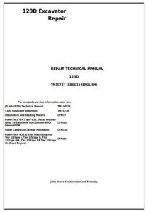 instantdownloadjohndeere120dexcavatorservicerepairmanual(tm10737)