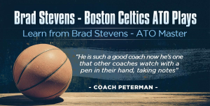 "brad stevens-boston celtics ""after time-out plays"""
