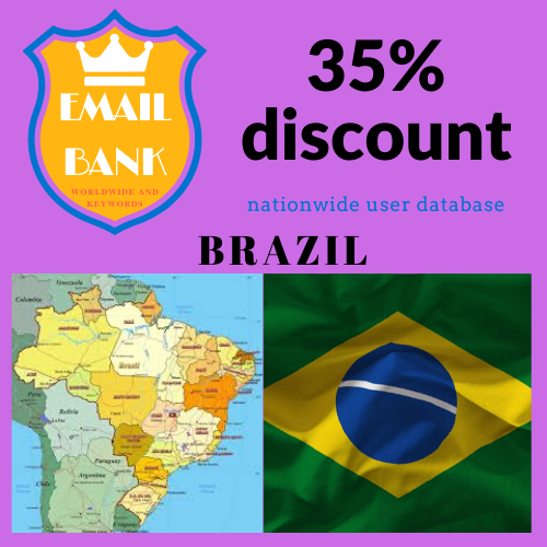 First Additional product image for - Email Data Brazil