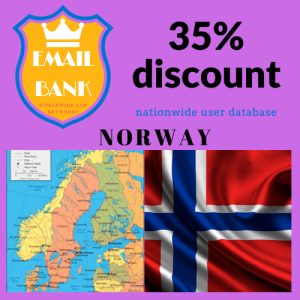 email data norway 620,000 contacts