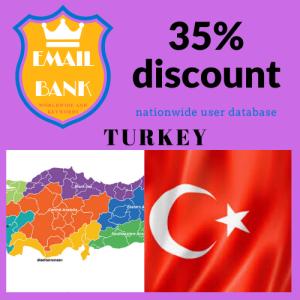 email data turkey