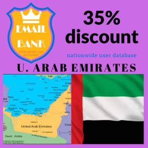 email data united arab emirates