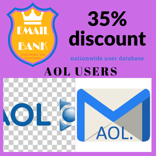 Second Additional product image for - Email Data aol.com 7.560.000 users