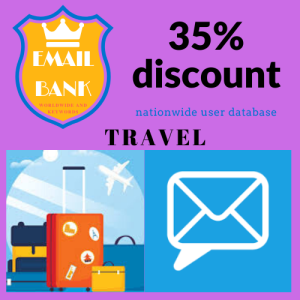 email data travel and vacation worldwide
