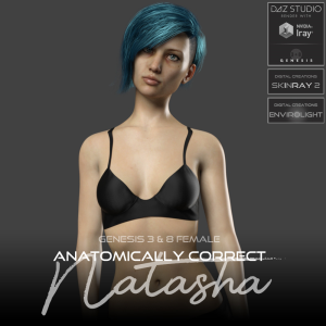 anatomically correct: natasha for genesis 3 and genesis 8 female