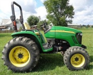 instant download john deere 4120, 4320 compact utility tractor w/o cab (sn. 610001-) technical service manual tm105019