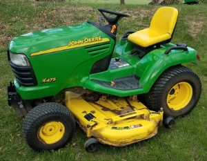 instant download john deere x475, x485, x465, x575, x585 lawn and garden tractors technical service manual tm2023