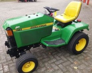 instant download john deere 415, 455 lawn and garden tractors diagnostic an repair technical service manual tm1836