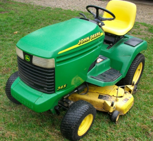 instant download john deere 325, 345, 335 lawn and garden tractors (sn. 070001-) technical service manual tm1760