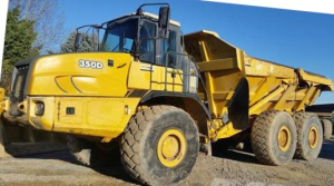 instant download john deere 350d, 400d articulated dump truck (sn:608490-626762) service repair manual (tm1317)