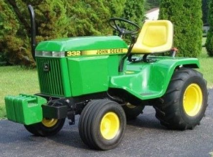 instant download john deere 322, 330, 332, 430 lawn and garden tractors technical service manual tm1591