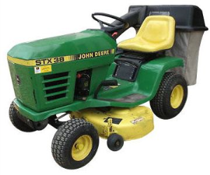 instant download john deere stx38, stx46, stx30d riding lawn tractors technical service manual tm1561