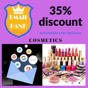 email data cosmetic worldwide