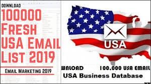usa emails database (100k)