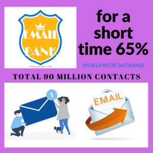 for a short time 90 million contacts worldwide