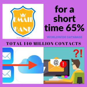 140 millionwolrdwide contacts