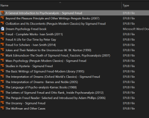 sigmund freud [collection of 20 books] epub only