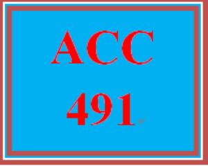 acc 491 week 5 fraud auditing