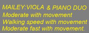 viola& piano duo
