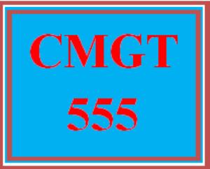 cmgt 555 wk 1: sdlc comparison