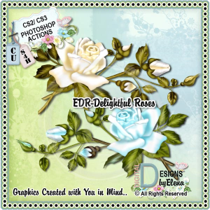 delightful roses ps action