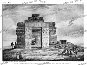 the temple of naga in the sahara of sudan, le´on jean-baptiste sabatier after cailliaud, 1823
