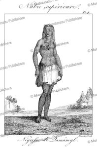 negress of damamyl, upper nubia, sudan, fre´de´ric cailliaud, 1826