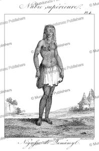 Negress of Damamyl, Upper Nubia, Sudan, Fre´de´ric Cailliaud, 1826 | Photos and Images | Travel