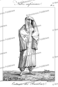 woman of the barabra, a lower nubian nomade tribe in northern sudan, fre´de´ric cailliaud, 1826
