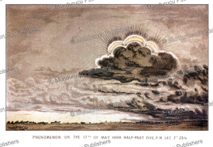 Phenomenon on the 17th of may 1869 half-past five, South Sudan, J. Cooper, 1873   Photos and Images   Travel