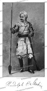 rudolf carl slatin pasha (1857-1932), sudan, talbot kellly, 1896