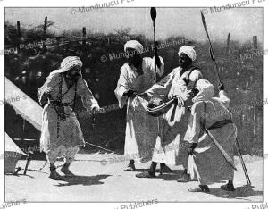 Mahdi's warriors presenting the head of Major-General Charles George Gordon (1833-1885), Sudan, Talbot Kellly, 1896   Photos and Images   Travel