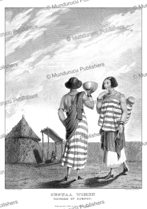 shouaa women, kingdom of bornu, major denham, 1826