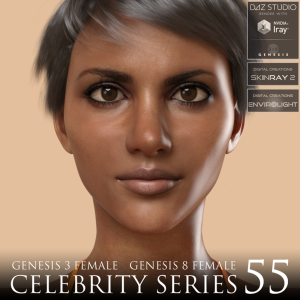 celebrity series 55 for genesis 3 and genesis 8 female