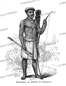 Mazaramo or native of Uzaramo, Tanzania, Captain Grant, 1863 | Photos and Images | Travel