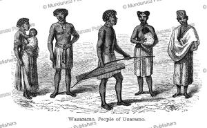 Wazaramo people of Uzaramo, Tanzania, Captain Grant, 1863 | Photos and Images | Travel