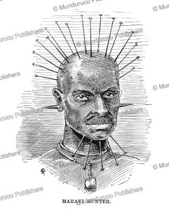 a hunter of the maravi kingdom, malawi, j.d. cooper, 1887